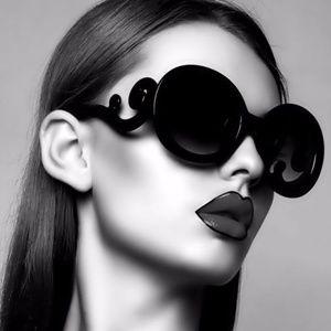 designer baroque swirl tortoiseshell sunglasses
